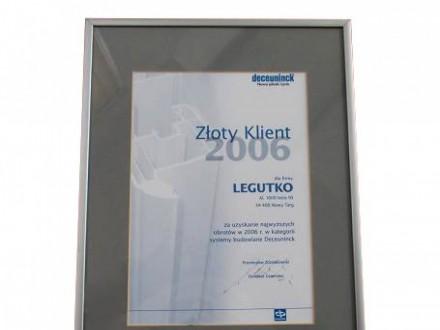 Nagrody dla firmy Legutko 1