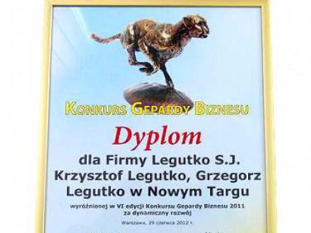 Nagrody dla firmy Legutko 9